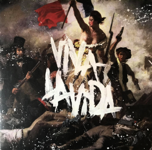 Coldplay ‎- Viva La Vida Or Death And All His Friends (LP) (VG/VG-)